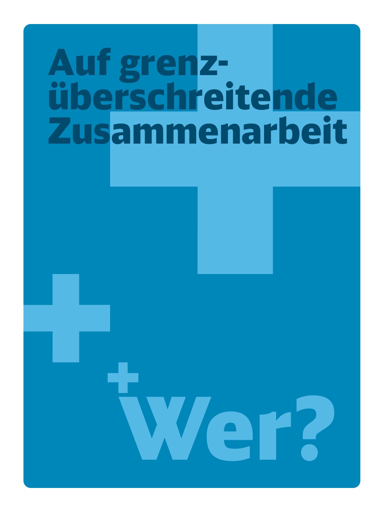 Poster Zusammenarbeit