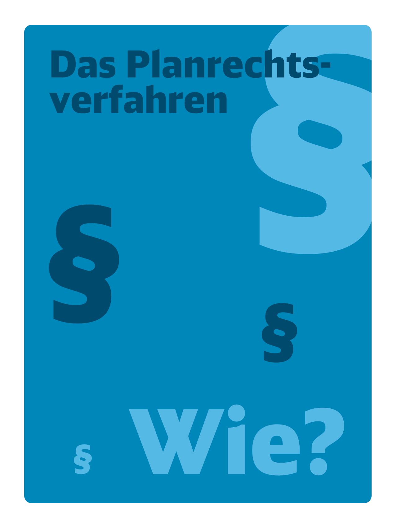 Poster Planrechtsverfahren